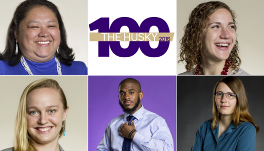2016 Husky 100 awardees from the College of the Environment.