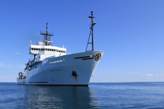 The Thomas G. Thompson has spent a quarter century exploring the world's oceans.