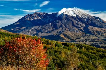 The last major eruption of Mount St. Helens, about 50 miles northeast of Portland, was in 1980. The mountain spewed steam and ash in 2004, and has since been rebuilding a new lava dome.