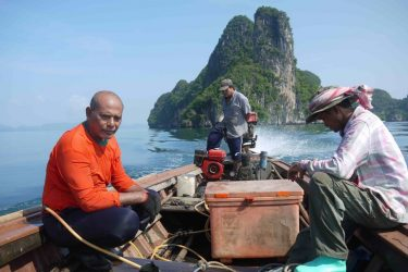 Some small-scale fishers on the Andaman coast of Thailand are resentful about marine protected areas, as they were not consulted and their needs were not considered.