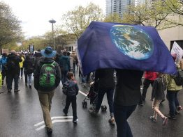 A scene from the March for Science in Seattle on April 22, 2017.
