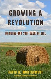 """The cover of Professor Dave Montgomery's new book, """"Growing a Revolution."""""""