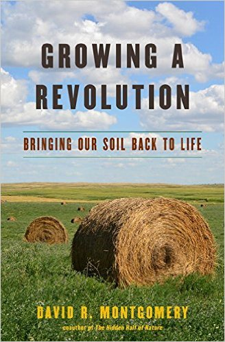 "The cover of Professor Dave Montgomery's new book, ""Growing a Revolution."""