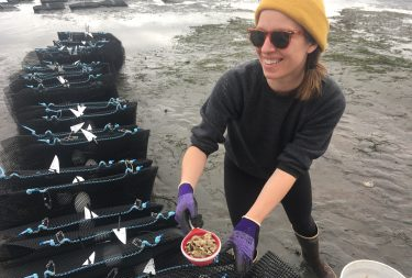Aquatic and Fishery Sciences' Laura Spencer