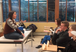Kristi Straus' Environment 239 class dives deep into many aspects of sustainability.