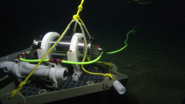The modified pressure sensor is now being tested at the bottom of Monterey Bay.
