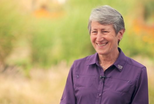 Sally Jewell, U.S. Secretary of the Interior under President Barack Obama and former CEO of REI, has returned to UW — her alma mater — as a distinguished fellow at the College of the Environment.