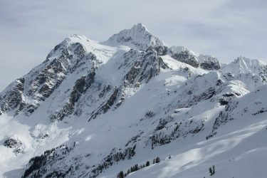 Washington state's Mount Shuksan in February 2014.