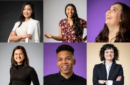 UW Environment members of the 2019 Husky 100.