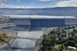 Grand Coulee Dam on the Columbia River in Washington.WSDOT
