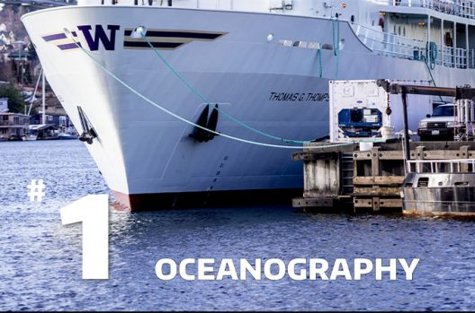 UW Oceanography ranked No. 1 in global ranking