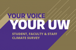 Take the UW climate survey